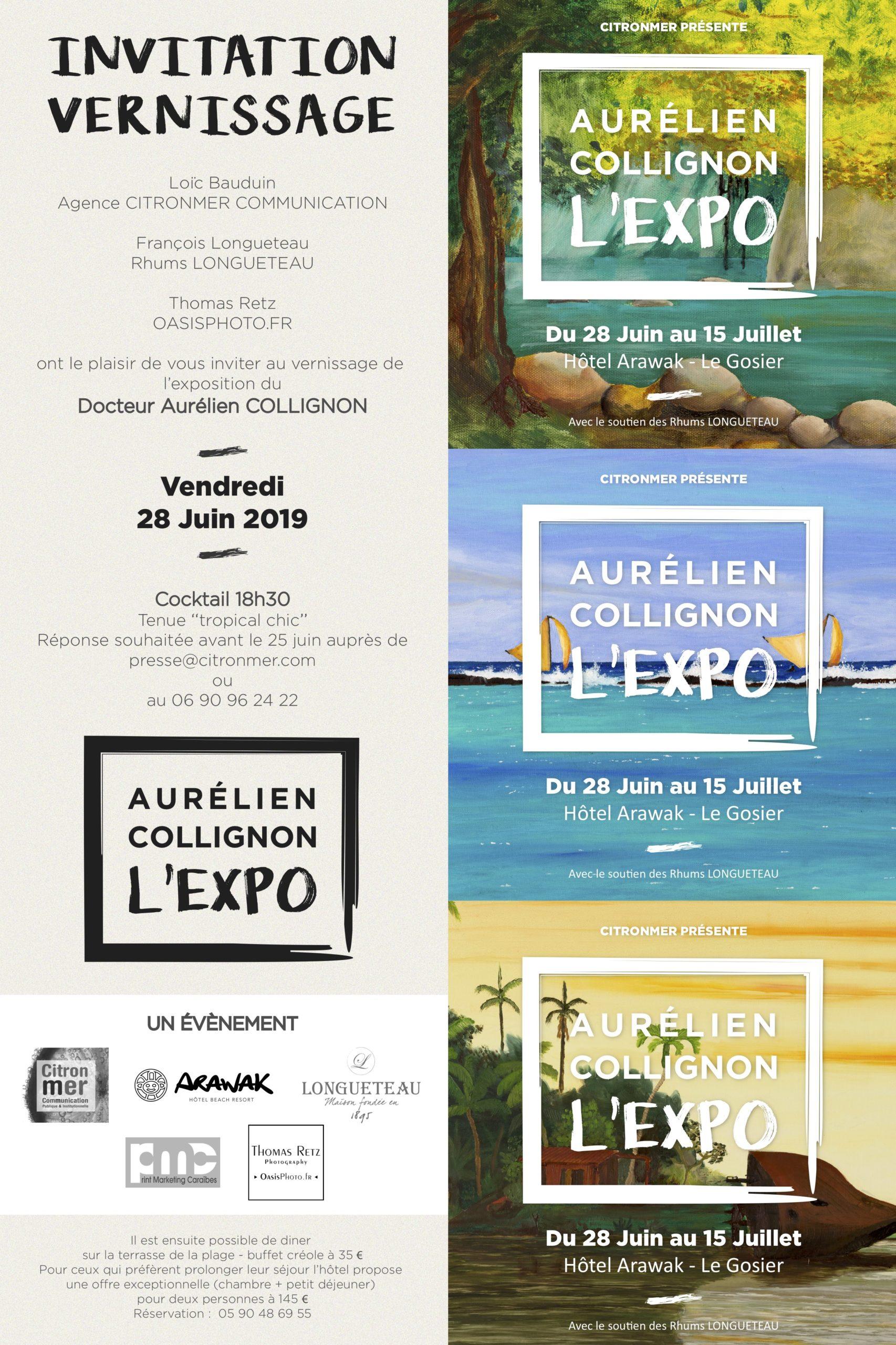 expo collignon invit