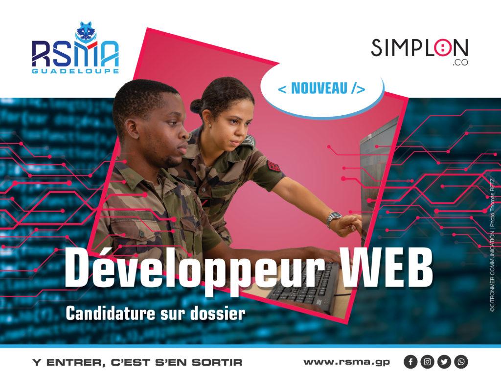 Developpeur WEB - SIMPLON
