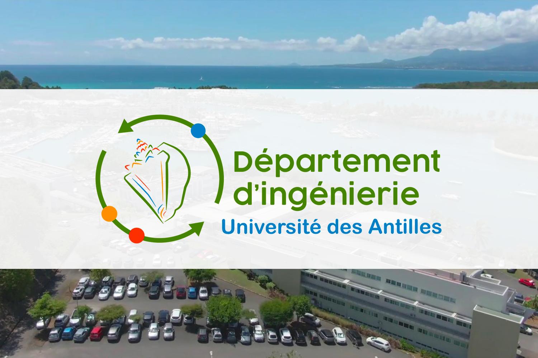 Département d'ingénierie – Université des Antilles